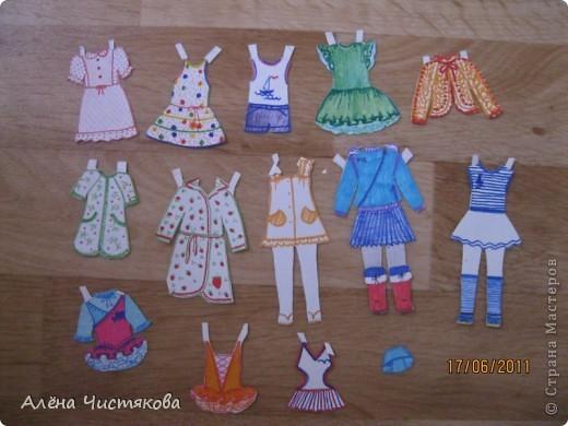 Бумажные Куклы, им 30 лет. фото 7