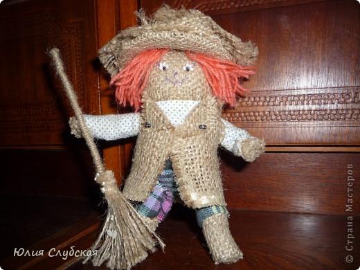 """Это моя первая """"кукла"""" Домовой. Сшила я его за 3-3,5 дня. фото 1"""