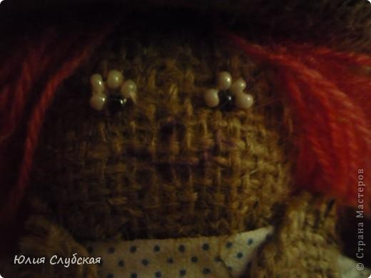 """Это моя первая """"кукла"""" Домовой. Сшила я его за 3-3,5 дня. фото 2"""