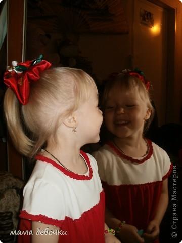 Вот такой бантик я сшила дочке на праздник (нас переводят в другую группу, и поэтому поводу родители устраивают новоселье) фото 3