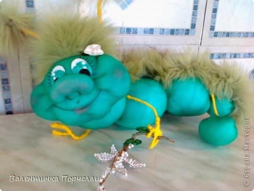 Моя гусеница! фото 3