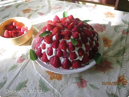 Тортик Клубничная поляна