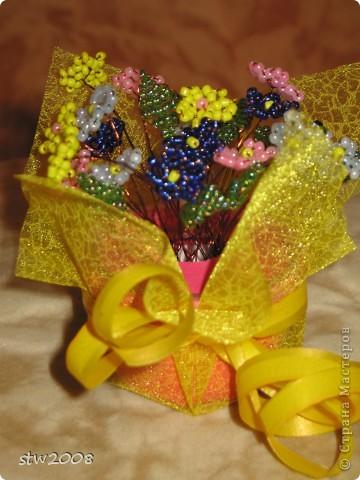 Букет - подарок учительнице. фото 1