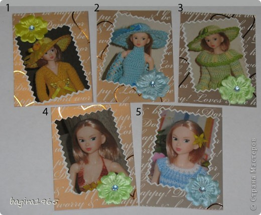Эта серия АТС состоит из портретов японских кукол Момоко из моей личной коллекции. Вся одежда на куколках тоже сделана мною. На первых 10 фотографиях моя любимая момошка Аделинка, на 11 и 12 фото - Василиса, на 13 и 14 фото Дженни, на 15 фото Молли. Прошу любить и жаловать. № 1 - vaulchenko  № 2 - Вера Дерябина № 3 - Чербунина Анна № 4 - моя племянница № 5 - оставляю себе фото 1
