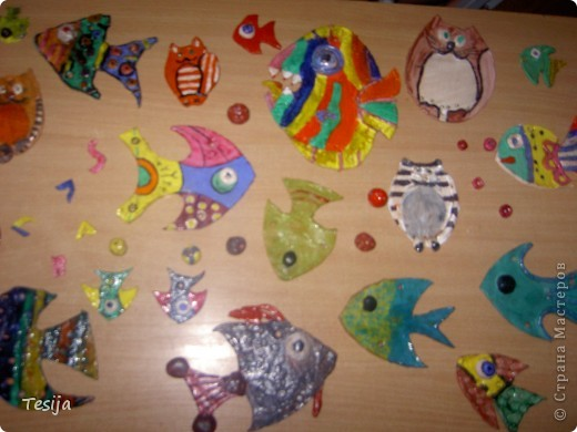 рыбки из моделины фото 2