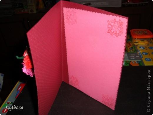 Вот такой розовый букетик сделан на заказ. Заказчица еще не видела - первым жителям Страны хвалюсь :) фото 4