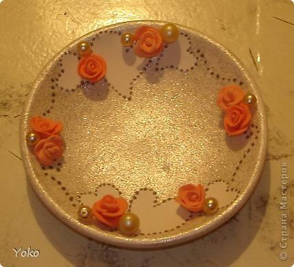 Итак, девочки, сделала я свадебную свечу-очаг и сфотографировала процесс, может кому и пригодится.   фото 16