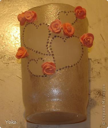 Итак, девочки, сделала я свадебную свечу-очаг и сфотографировала процесс, может кому и пригодится.   фото 22