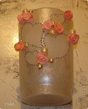 Итак, девочки, сделала я свадебную свечу-очаг и сфотографировала процесс, может кому и пригодится.   фото 23