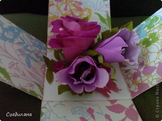 Сладкие цветочки в коробочке)) фото 4