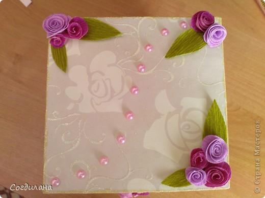 Сладкие цветочки в коробочке)) фото 5