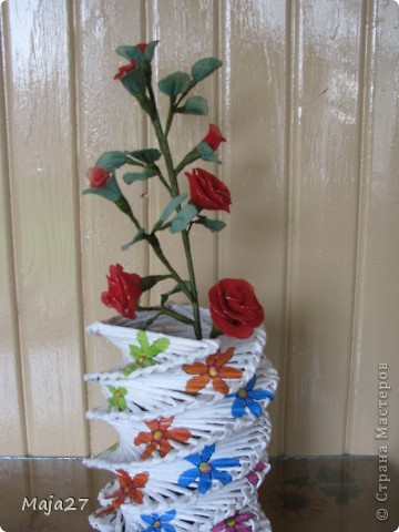 Цветы из капрона. фото 4