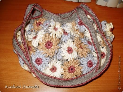 Сумочка со цветами фото 1