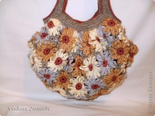 Сумочка со цветами фото 3