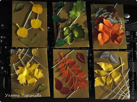 Осень - мое любимое время года, особенно ранняя, когда еще нет проливных дождей и много-много шуршащих листочков!))) bagira1965 и Valkiria выбирайте пожалуйста первые!!! А теперь давайте отгадывать листочки... фото 1