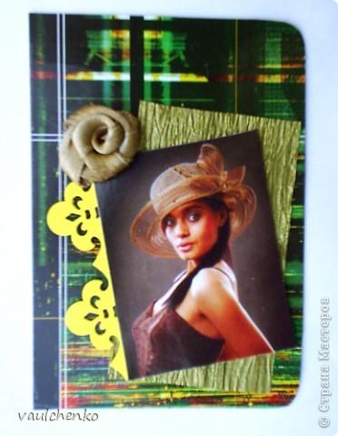 Дамская Шляпка! Во все времена это и модный аксессуар, и символ статуса, и сезонная необходимость, и ЗАГАДКА... Первая часть моих карточек для знойного летного дня! фото 11
