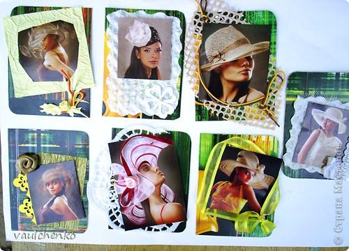 Дамская Шляпка! Во все времена это и модный аксессуар, и символ статуса, и сезонная необходимость, и ЗАГАДКА... Первая часть моих карточек для знойного летного дня! фото 9