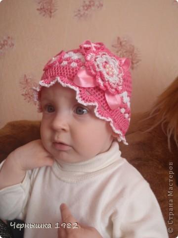 Панамка для дочки.... фото 4