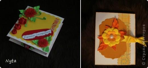 Коробочка со стихотворением и блокнотик с блоком для записей - маааленькие сюрпризы для сестрищи))))  фото 1