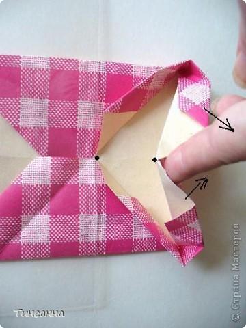 Предлагаю сделать такой альбом-ширмочку. тем, кто не знаком с базовыми формами оригами,сначала советую научиться делать Блинчик и Дверь. См. здесь http://stranamasterov.ru/node/128237  и http://stranamasterov.ru/node/128232 фото 9