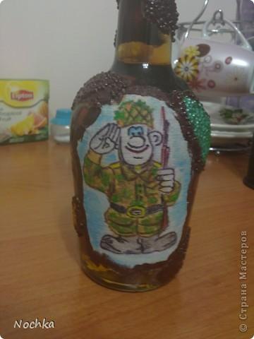 Декор бутылок фото 10