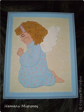 Вот такой ангелочем у меня родился.