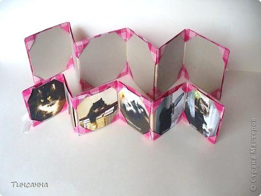 Предлагаю сделать такой альбом-ширмочку. тем, кто не знаком с базовыми формами оригами,сначала советую научиться делать Блинчик и Дверь. См. здесь http://stranamasterov.ru/node/128237  и http://stranamasterov.ru/node/128232 фото 2