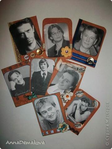 """Серия """"Красавец мужчина"""" продолжается. В этот раз 8 карточек с Российскими актерами. Приятного просмотра. Надеюсь вы найдете того, кто вам по душе. фото 1"""