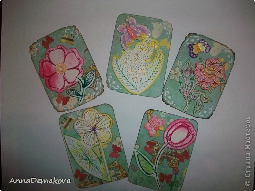 Вот такие цветы у меня нарисовались. Эти картчки очень понравились моему сыну. В серии 5 карточек. Выбирайте пожалуйста. фото 1