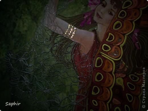 Вот и опять сказочная тема. Фея танцует, ей весело. Мне тоже, ведь позади 14 рабочих дней, за которые и родилась эта картина. Всем желаю хорошего настроения. фото 10
