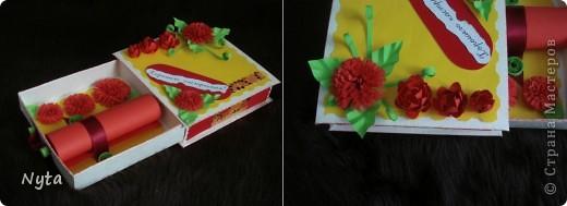 Коробочка со стихотворением и блокнотик с блоком для записей - маааленькие сюрпризы для сестрищи))))  фото 2