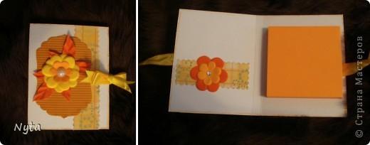 Коробочка со стихотворением и блокнотик с блоком для записей - маааленькие сюрпризы для сестрищи))))  фото 3
