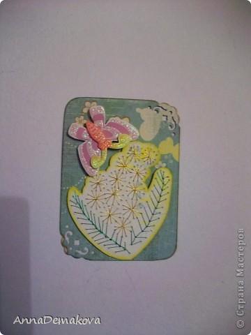 Вот такие цветы у меня нарисовались. Эти картчки очень понравились моему сыну. В серии 5 карточек. Выбирайте пожалуйста. фото 3