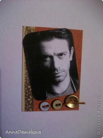"""Серия """"Красавец мужчина"""" продолжается. В этот раз 8 карточек с Российскими актерами. Приятного просмотра. Надеюсь вы найдете того, кто вам по душе. фото 4"""