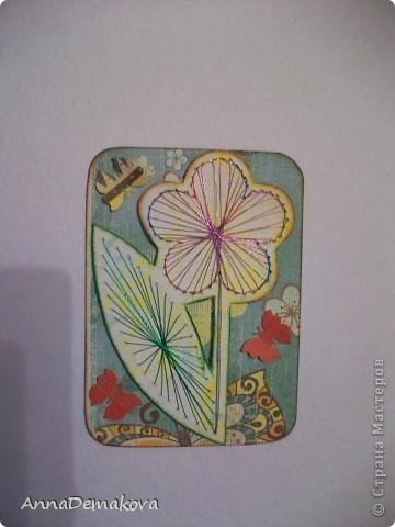 Вот такие цветы у меня нарисовались. Эти картчки очень понравились моему сыну. В серии 5 карточек. Выбирайте пожалуйста. фото 4