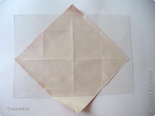 Предлагаю сделать такой альбом-ширмочку. тем, кто не знаком с базовыми формами оригами,сначала советую научиться делать Блинчик и Дверь. См. здесь http://stranamasterov.ru/node/128237  и http://stranamasterov.ru/node/128232 фото 4