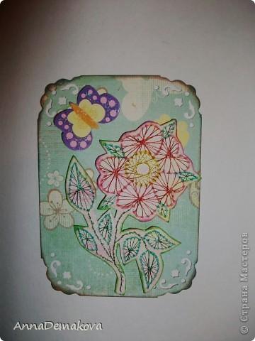 Вот такие цветы у меня нарисовались. Эти картчки очень понравились моему сыну. В серии 5 карточек. Выбирайте пожалуйста. фото 6