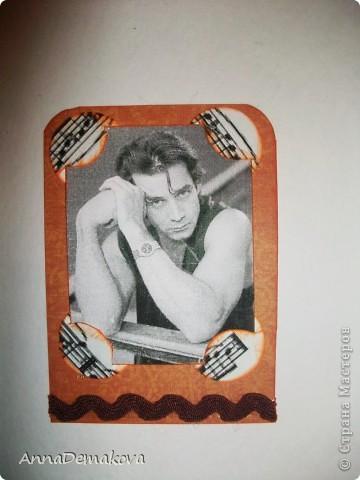 """Серия """"Красавец мужчина"""" продолжается. В этот раз 8 карточек с Российскими актерами. Приятного просмотра. Надеюсь вы найдете того, кто вам по душе. фото 8"""