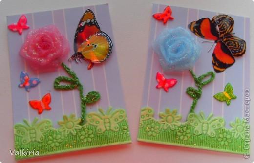 Яркие бабочки поселились на наших новых карточках Первой выбор за сестрой фото 3
