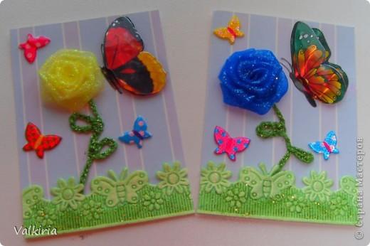 Яркие бабочки поселились на наших новых карточках Первой выбор за сестрой фото 5