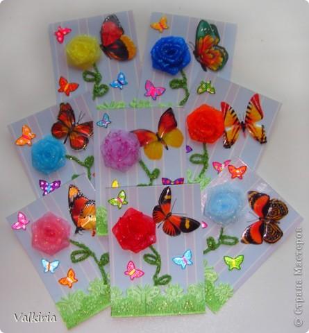 Яркие бабочки поселились на наших новых карточках Первой выбор за сестрой фото 1