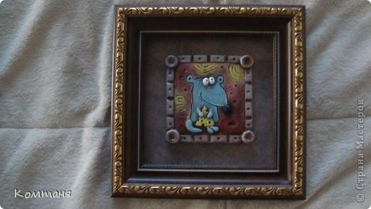 Мышки с сыром и лягушка с цветочком из глины фото 6