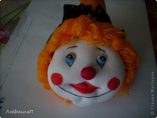 Голова  Клоуна- отреставрирована. фото 3