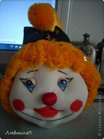 Голова  Клоуна- отреставрирована. фото 1