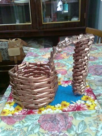 Плетеная туфелька) фото 2
