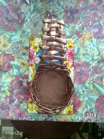 Плетеная туфелька) фото 3