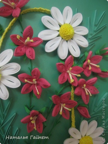 """Панно """"Летнее очарование"""" или корзинка в подарок. Хотелось полевых и садовых цветов!Родились Фиалки, ромашки и колокольчики.  фото 4"""