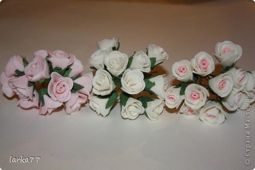 Розы из фоамирана своими руками фото
