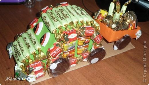 Конфетный подарочек первокласснику на окончание первого учебного года:) фото 1