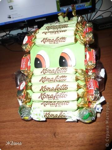Конфетный подарочек первокласснику на окончание первого учебного года:) фото 2